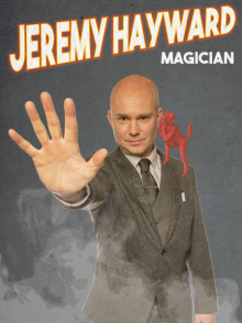 portsmouth magician jeremy hayward